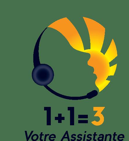 Logo 1+1=3